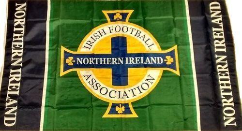 Northern Ireland Football Flag NI IFA Flag windsor belfast Norn Iron GAWA 5x3ft