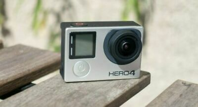A Gopro HERO 4 Black Edition 4K Action Camera Camcorder CHDHX-401