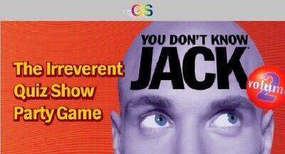 YOU DON'T KNOW JACK Vol. 2 Steam Key Digital Download PC [Global], gebraucht gebraucht kaufen  Versand nach Germany