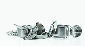 Cat Cora 10 piece stainless steel cookware - some scratches