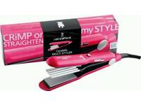 Lee Stafford Ceramic Multi Styler. Crimper & Straightener