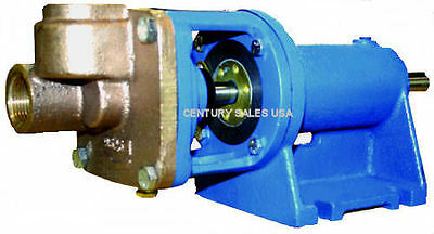Burks Condensate Turbine Boiler Feed Pump Et6m  58 Shaft Base Mounted