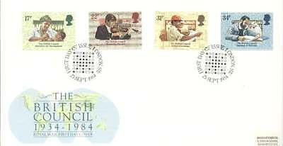 1984 The British Council - London SW H/S FDC.