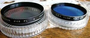 CAMERA LENS FILTERS FOR SALE 37 46 49 52 55 58 62 67 72mm VGC