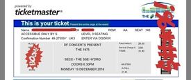 2 x 1975 Tickets. Glasgow Mon 19th Dec. Offers welcome.