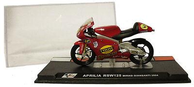 Ixo/altaya Alt43 Aprilia Rsw 125 2004 - Mirko Giansanti 1/24 Scale
