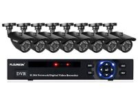 Complete 8 camera HD CCTV system - brand new in box