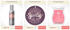 WANTED PINK HAZE SCENTSY SPRAY