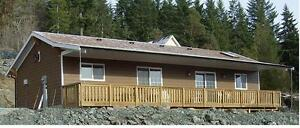 Marble Bay with view of Lake Cowichan cottage/home