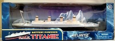 RMS Titanic Battery Powered Toy Atlantis Toy and Hobby, New, Free Shipping