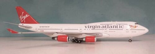 Inflight WB744OT Virgin Atlantic Airways B747-400 G-VHOT Diecast 1/200 Jet Model