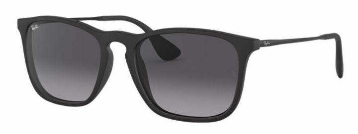 Ray-Ban Herren Sonnenbrille RB4187 622/8G CHRIS Gr 54 Schwarz BS F6