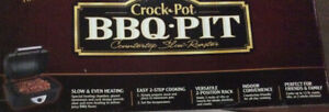 SOLD OUT NEW - RIVAL CROCK POT BBQ PIT SLOW COOKER WITH RIB RACK