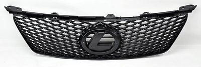 Lexus IS250 IS350 2006-2008 F Sport Style Matte Black Mesh Front Grill