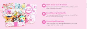 Transferring the 6-month subscription of Kawaii Box