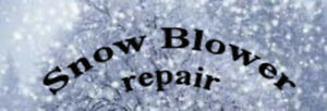 Cape Breton SNOWBLOWER REPAIR!