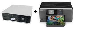 Intel Core 2 Duo E8400 3.0GHz Processor WITH 3 in 1 printer