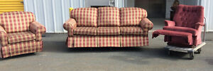 Coach Chair & Lazyboy Recliner $200 for all 3 delivery available