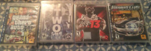 "3 PS3 Games for Sale - ""used"" - GTA IV, Army of Two, WWE 13.."