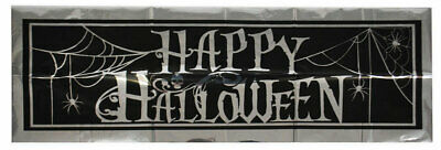 Halloween Folien Banner NEU - Partyartikel Dekoration Karneval Fasching