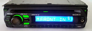 Various Sony CD/MP3 Car Receivers with Front AUX Input