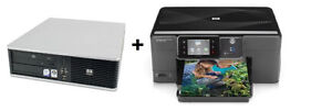 HP 3 in 1 PRINTER, AND HP COMPUTER FOR ONLY $260 ... *REDUCED