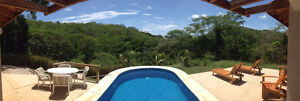 Costa Rica - Luxury Home on 28 acres Mountainside Jungle