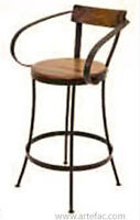on Clearance SALE Vintage Industrial Bar Stool