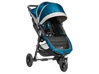 Baby Jogger City Mini GT Pushchair including Deluxe Carrycot - Teal