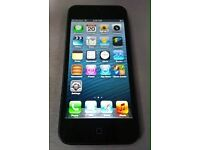 iPhone 5s black 16g with case and charger