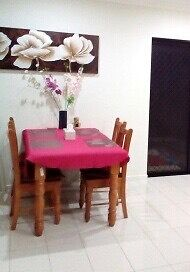 Solid wood dinning table Smithfield Cairns City Preview