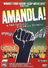 Amandla - A Revolution in Four-Part Harmony (DVD, 2004) Brand New & Sealed R4