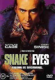 Snake Eyes (1998) Nicholas Cage - NEW DVD - Region 4