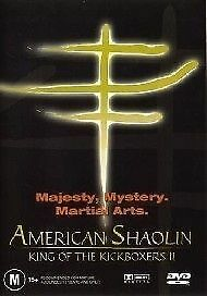 American Shaolin: King Of The Kickboxers 02 (DVD, 2004) BRAND NEW FREE POST!