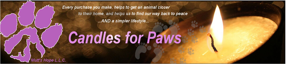Candles for Paws