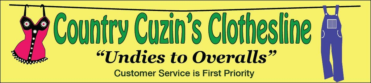 Country Cuzin's Clothesline