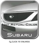 Subaru Impreza Grill