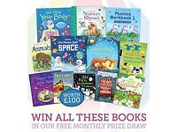 Usborne Books win £100 of books