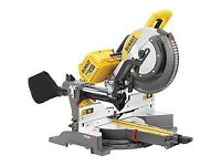 BOXED NEW DEWALT 54 v 305 mm chop saw