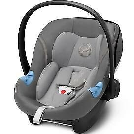 Brand New Sealed Cybex Aton M Car Seat Group 0+ in Manhattan Grey (2 available)