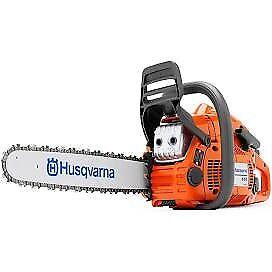 "Husqvarna 455 rancher 18"" 55cc chainsaw FREE TROUSERS/GLOVES/HELMET"