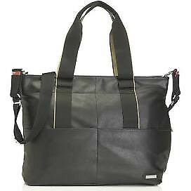 Storksak Eden Vegan Leather nappy bag