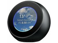 Amazon Echo Spot in black hardly used
