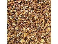 golden gravel 20mm down decorative gravel