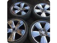 "22"" chrome wheels"