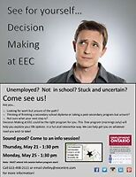 Are you stuck? Come to EEC's Decision Making program!
