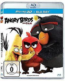 Angry Birds - Der Film (3D Version) [3D Blu-ray] von... | DVD | Zustand sehr gut