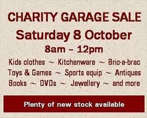 CHARITY GARAGE SALE - WANNIASSA - 8 October Wanniassa Tuggeranong Preview