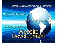 Professional website design, creation, and development for small business users