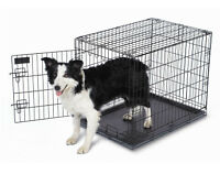 Large Dog Crate - Kennel - Like New- Save $
